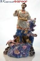 фарфоровая статуэтка садко