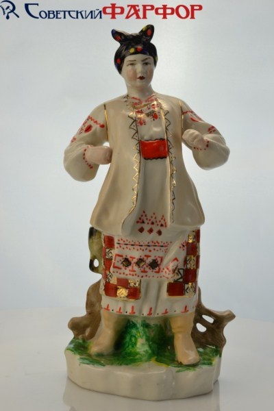 "Фарфоровая статуэтка ""Одарка"" Киев"