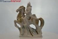 Красноармеец на коне - фарфоровая статуэтка - продажа