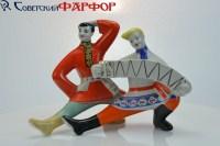 Русский танец в фарфоре